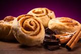 Sweet cinnamon rolls