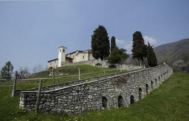 Panoramica - Castel San Pietro - Svizzera
