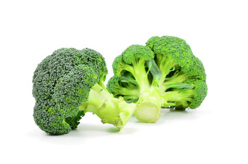 Ioslated Broccoli