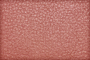 Red leather background or texture leather texture.