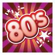 80, 80's, années 860, pochette, disque, eighties, fond
