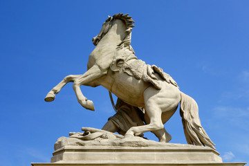 pferdestatue