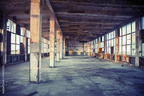 abandoned shoe factory
