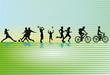 Sportliche Freizeit