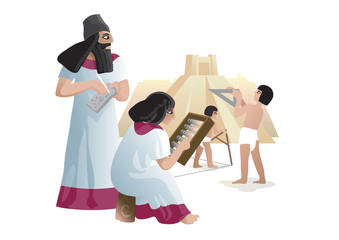 Ancient Babylonian builders
