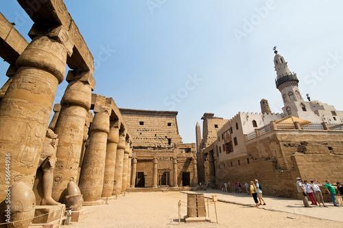 Ägypten, Luxor, Amun Tempel von Luxor.