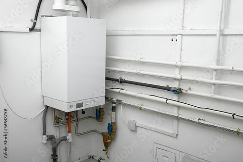 Leinwanddruck Bild Boiler