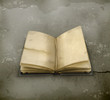 Open book old style
