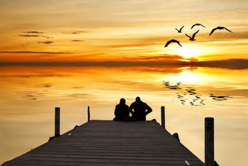 amor en el embarcadero