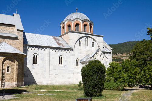 The orthodox monastery Studenica in Serbia