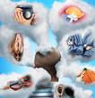Various professions imagination
