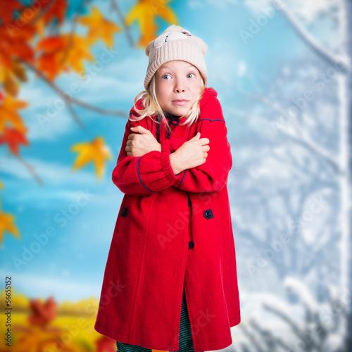 Übergang von Herbst zu Winter