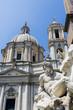 Fontana dei Quattro Fiumi at Piazza Navona, Rome.