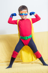 Superhero boy