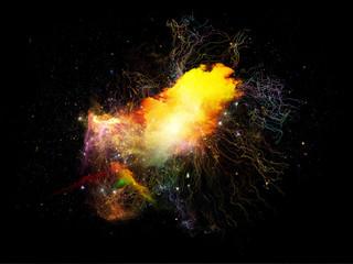 Conceptual Fractal Nebulae