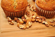Walnuts and Fresh Muffins