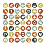 Fototapety Big set of food icons ALL NEW