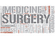 Cardiothoracic surgery Word Cloud Concept