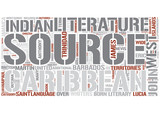 Caribbean literature Word Cloud Concept