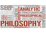 Continental philosophy Word Cloud Concept