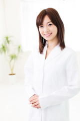 portrait of young asian doctor