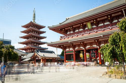 Poster Tokyo Sensoji Temple