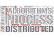 Distributed algorithms Word Cloud Concept