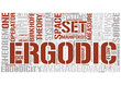 Ergodic theory Word Cloud Concept