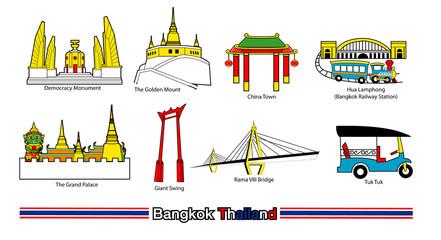 Bangkok thailand icon