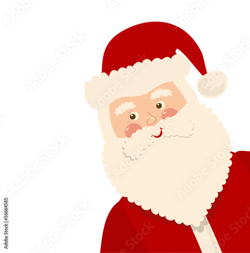 Christmas card, vector illustration