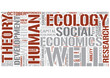 Human development theory Word Cloud Concept