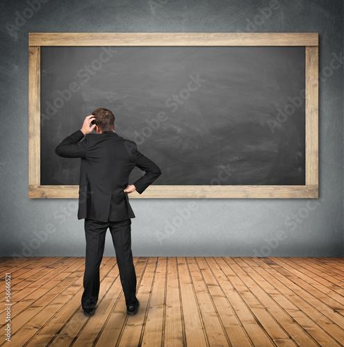 Man at the Blackboard