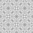 Abstract swirly ornament, seamless pattern