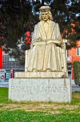 Figueras, Figueres, escultura de Ramón Muntaner