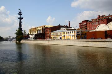 Pietro il grande sulla Moscova