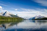 Maligne Lake - Jasper National Park - Alberta - Canada poster