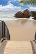 Fototapeten,seychelles,strand,sand,felsen