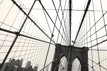 Brooklyn Bridge, Sepia
