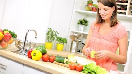 Healthy Lifestyle Fresh Salad Sub Sandwich
