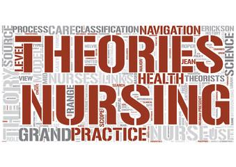 Nursing theory Word Cloud Concept