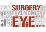 Ophthalmology Word Cloud Concept