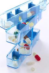 Pilulier ou Boîte à médicaments