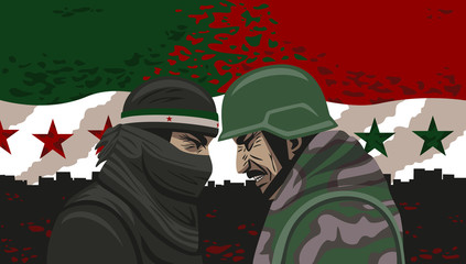 War of Syria.