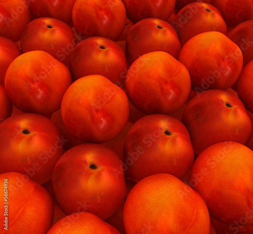 lots of fresh peaches are beautiful peach background