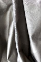 Tissu, étoffe, soie, décoratif, linge, drap, gris, décor