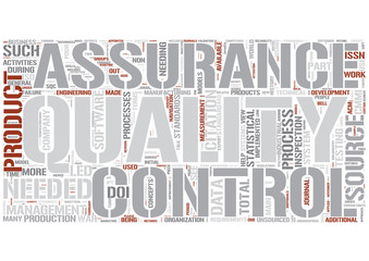 Quality assurance Word Cloud Concept