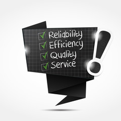 bulle origami : reliability efficiency quality service
