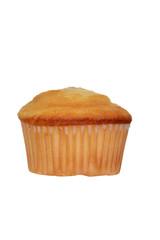 isolated plain cupcake