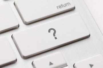 question enter button key