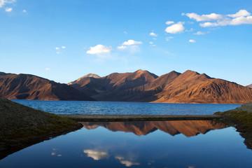 Pangong Lake in Ladakh, North India